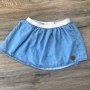 ZARA BABY GIRL Denim Skirt